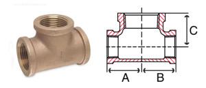 bronze-bulkhead-tee