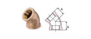 bronze-fittings-45-degree-elbow