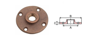 bronze-floor-flange